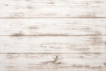 decoracion mesas: Fondo blanco de la textura de madera con patrones naturales. Contexto abstracto Foto de archivo