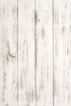 White wood texture background with natural pattern. Abstract wooden texture