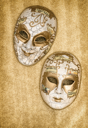 arlecchino: Carnival mask harlequin. Mardi gras. Holidays background. Symbol of venetian mask festival Archivio Fotografico