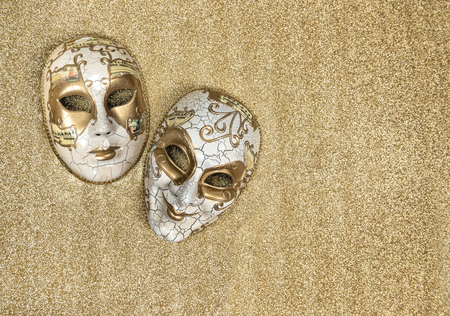 harlequin: Carnival mask harlequin. Mardi gras. Holidays background. Symbol of venetian mask festival Stock Photo