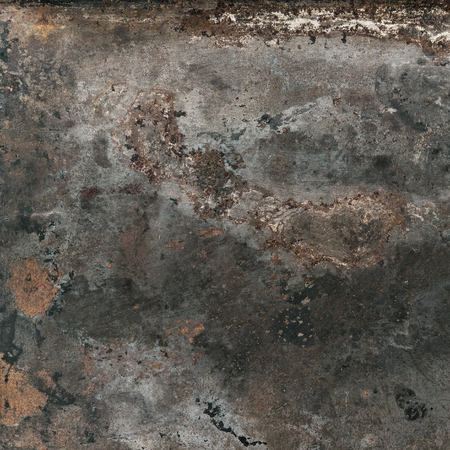 corroded: Vintage rusty textured metal background. Corroded structure surface