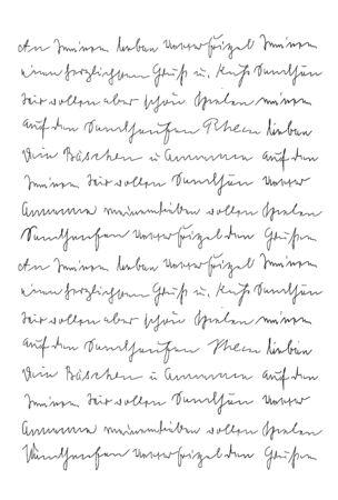 Handgeschriebener Brief. Handschrift. Kalligraphie. Unlesbarer Text. Manuskript. Skript. Schriftart. Abstrakter Texturhintergrund
