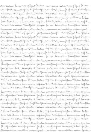 Handschrift. Kalligraphie. Unlesbarer Text. Handgeschriebener Brief. Schriftart. Abstrakter Texturhintergrund Standard-Bild