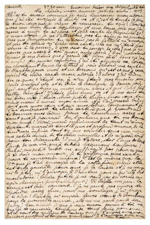 Old paper sheet unreadable handwritten text. Grungy vintage texture background Stock fotó