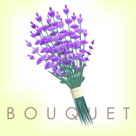 bunch: Lavender bouquet vintage wedding element bunch