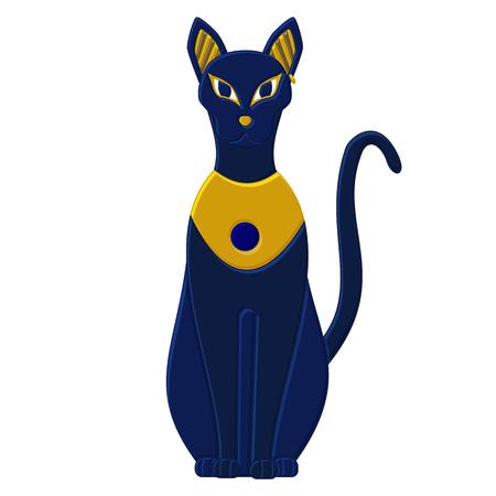 sacrosanct: Statue cat egypt - goddess Bastet. Egyptian idols