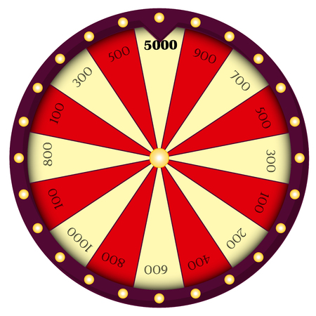 Wheel of Fortune, Roulette sign.