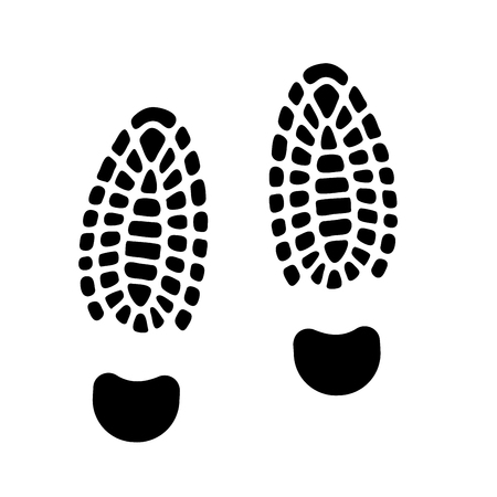 isolated footprint. The evidence in the detective investigation