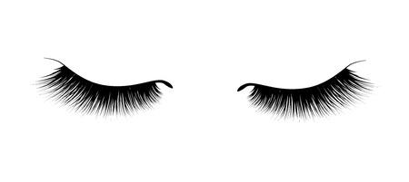 Wimperverlenging. Een mooie make-up. Dikke pluizige trilharen. Mascara voor volume en lengte.