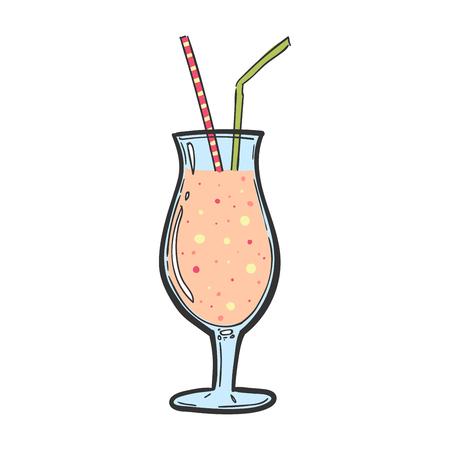 cocktail pink. Alkohol refreshing drink. Summer Bar menu. Longer