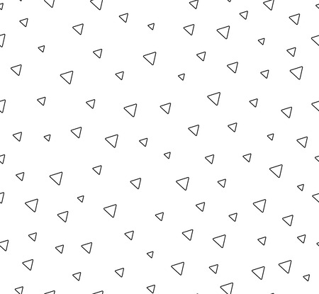 Triangles abctract seamless pattern. Background with geometric shape.  イラスト・ベクター素材