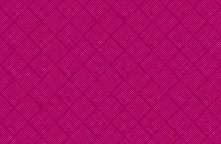 Checkered seamless pattern for printing on fabric. Ornament diagonal striped rhombuses. Ilustração