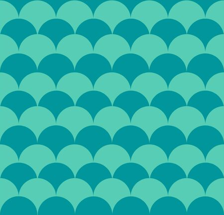 Squama fish seamless pattern. Marine design. Scales ornament. Vector background