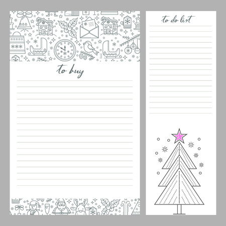 Monthly Planner Template To Do List And Shopping. Organizer Is ...