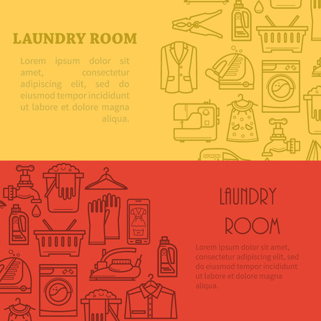 laundry room: Banner laundry room is in the trendy linear style