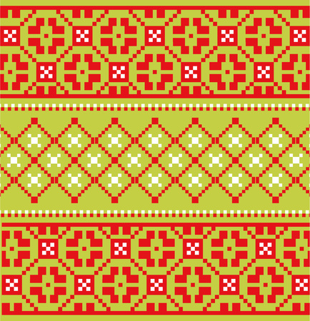 scandinavian: Scandinavian embroidery pattern