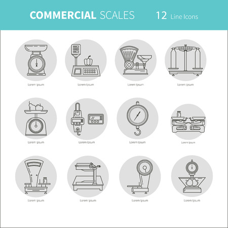 Commercial scales Scales icon