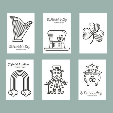 st patrick s day: St. Patrick s Day set of cards