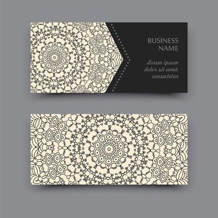 business card: Mandala Business Card