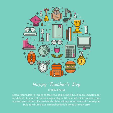 Teacher s day illustrations