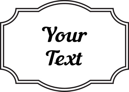 Vintage Decorative Frame Labels For Text And Photos 2018 Stock Photo