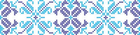Gestickte Kreuzstich Ornament nationale Muster ukrainischen slawischen Standard-Bild - 91778026
