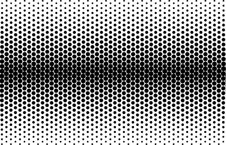 Black and white vector abstract geometric pattern