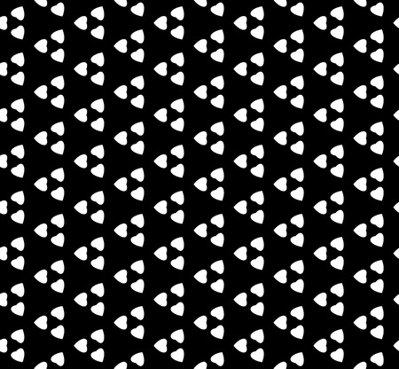 Black and white vector abstract geometric pattern.