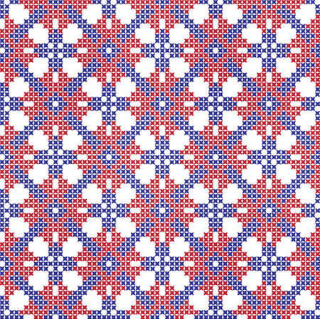 embroidered Ukrainian national pattern crossembroidered cross ukrainian slavic national pattern on transparent background