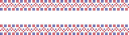 embroidered Ukrainian national pattern crossembroidered cross ukrainian slavic national pattern on transparent background