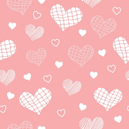 light red pattern with hearts