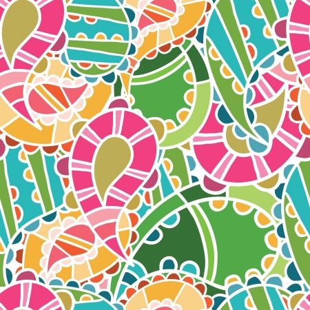 seamless pattern with bright cucumbers