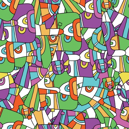 invent things: seamless  abstract pattern