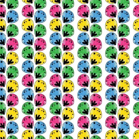 multitude: patr�n abstracto sin fisuras con una multitud de elementos