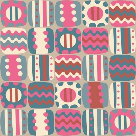 naadloze abstracte kleurrijke patroon