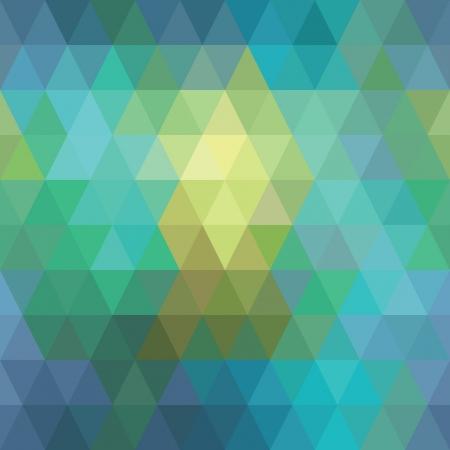 seamless geometric background of triangles