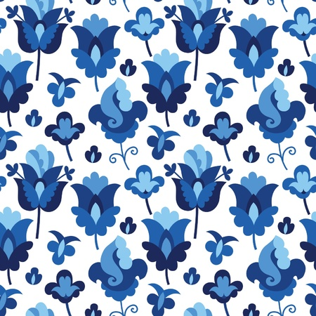 Seamless floral pattern Stock Vector - 19139004