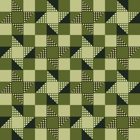 Abstract pattern, patchwork Vector