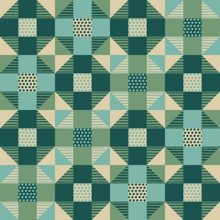 Naadloos abstract geometrisch patroon