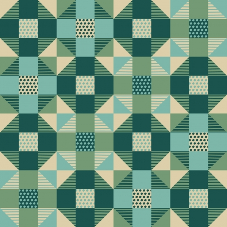 Seamless abstract geometric pattern Stock Vector - 19421733
