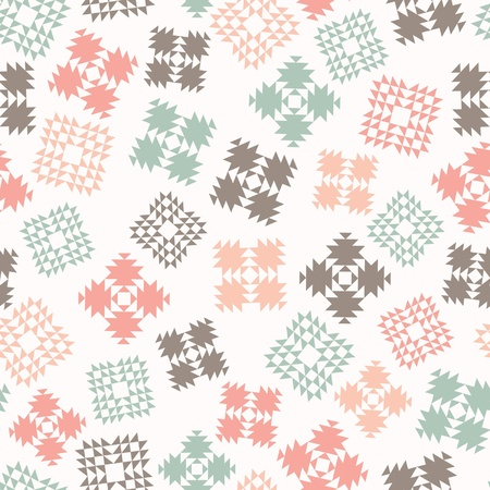 Seamless design with patterned elements
