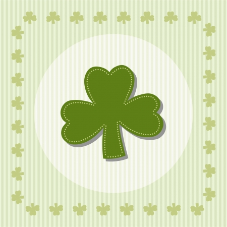 Shamrock, clover illustration Stock Vector - 22174193