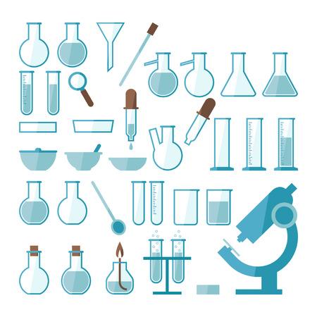 Laboratoriumapparatuur set