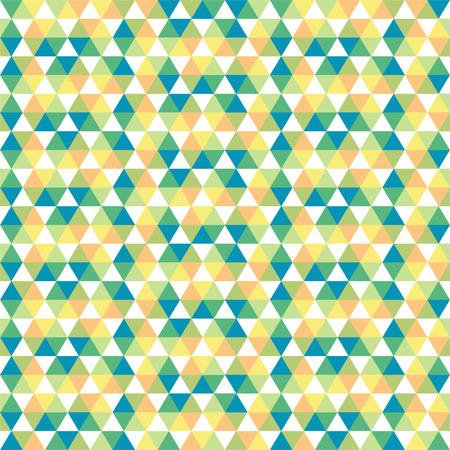 geometrical shapes: Seamless pattern of geometrical shapes