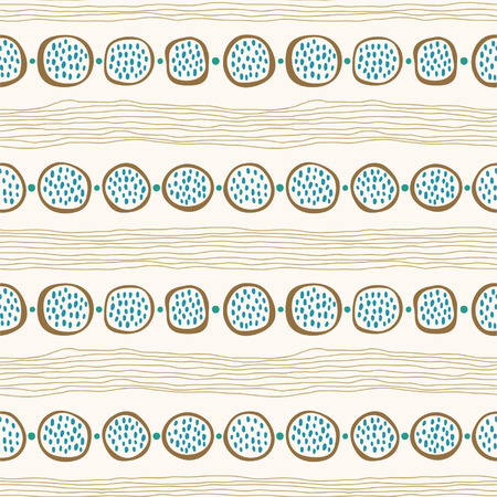 Seamless abstract hand drawn background, endless pattern Vector