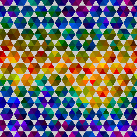 geometrical shapes: Seamless abstract pattern of color geometrical shapes