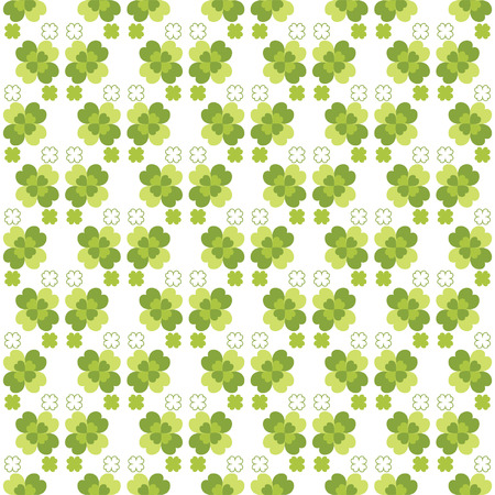 Seamless decorative floral pattern with clover for textiles, interior design, for book design, website background Vector
