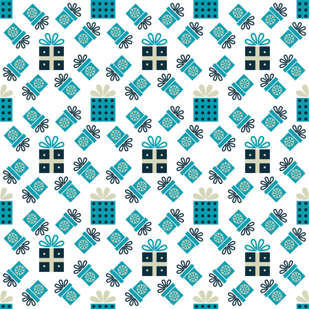 Seamless pattern with gift boxes for textiles, interior design, for book design, website background