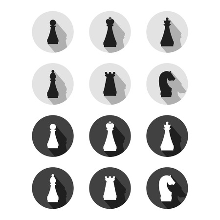 Set of chess, sings