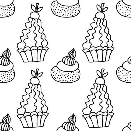 abstract birthday cake stock photos royalty free abstract birthday Party Table Cover Birthday Cake black and white seamless pattern with cakes for coloring books